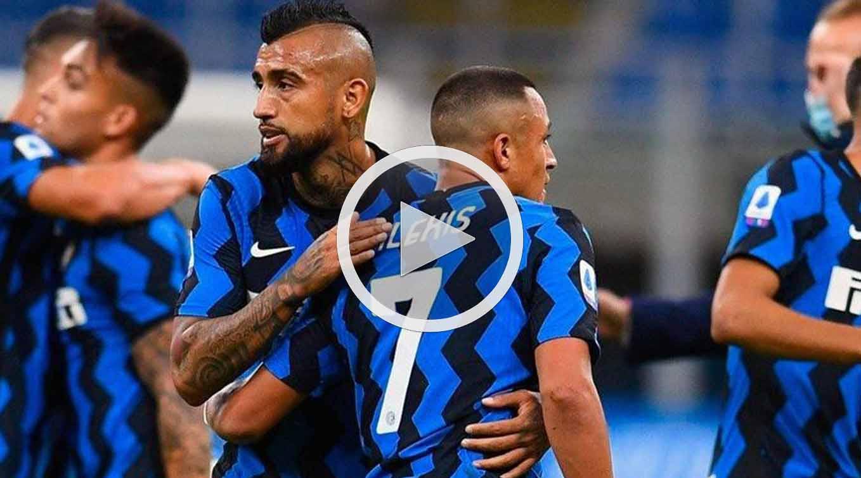 Atalanta vs Inter Serie A 8 de Noviembre 2020